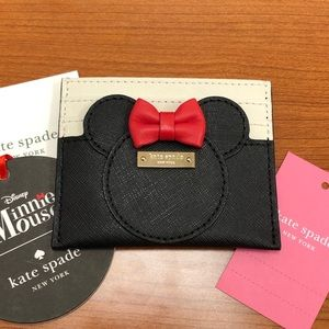 KATE♠️SPADE MINNIE MOUSE LIMITED EDITION CARD CASE